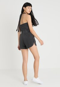Cheap Monday - SMILE WASHPLAYSUIT - Tuta jumpsuit - black - 2