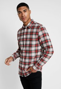 Cheap Monday - FIT SHIRT RELAX CHECK - Camicia - punk red - 0