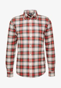 Cheap Monday - FIT SHIRT RELAX CHECK - Camicia - punk red - 4