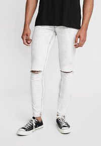 Cheap Monday - HIM SPRAY - Jeans Skinny Fit - average cut white - 0