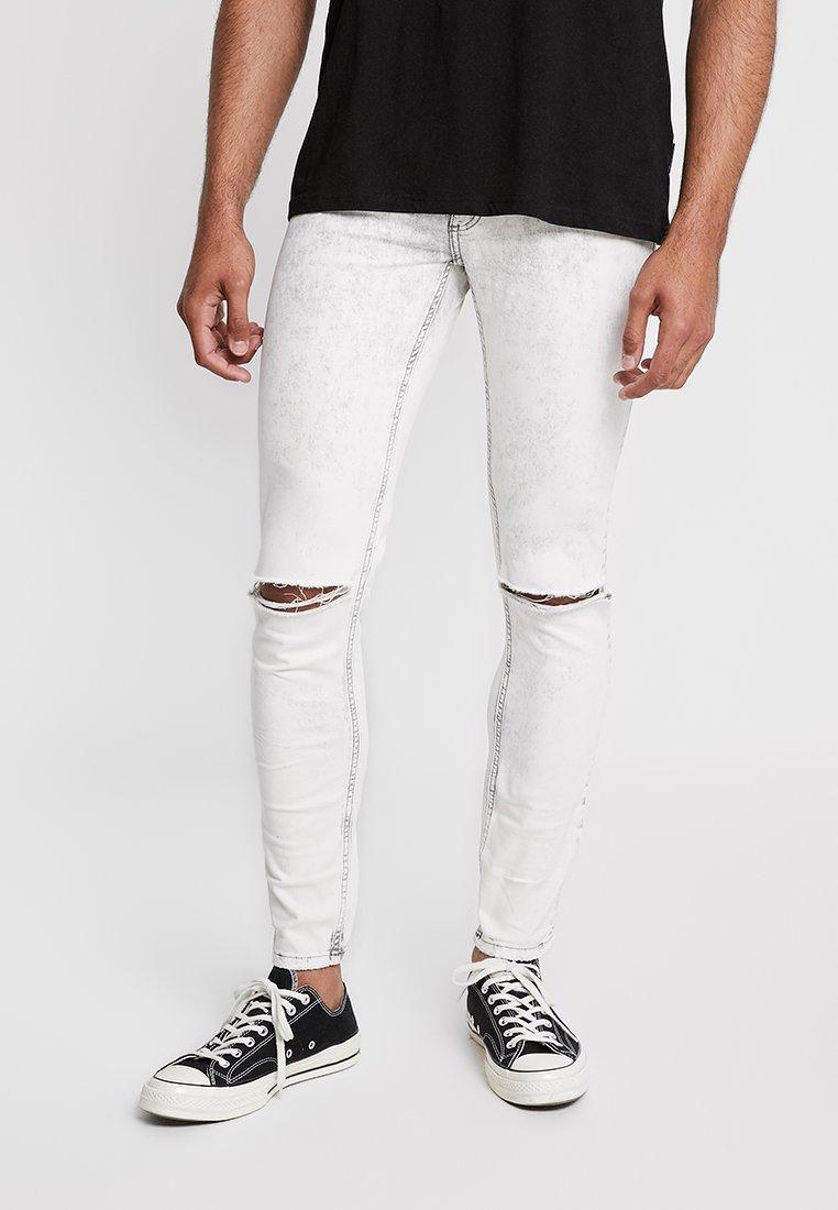 Cheap Monday - HIM SPRAY - Jeans Skinny Fit - average cut white