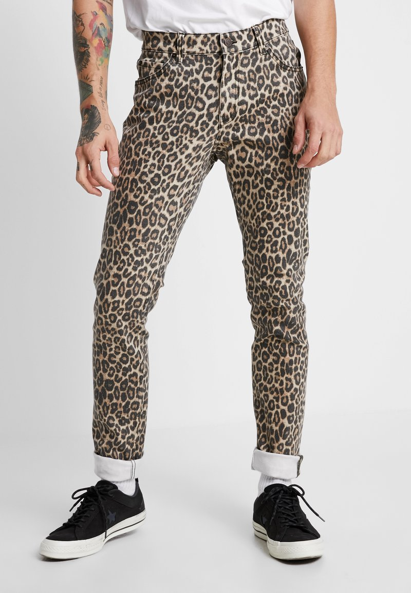 Cheap Monday - TIGHT - Jeans slim fit - cheetah sand