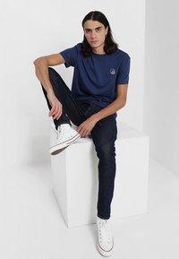 Cheap Monday - STANDARD TEE TINY SKULL - T-shirt basic - deepblue - 1
