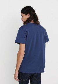 Cheap Monday - STANDARD TEE TINY SKULL - T-shirt basic - deepblue - 2