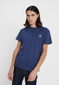 Cheap Monday - STANDARD TEE TINY SKULL - T-shirt basic - deepblue - 0
