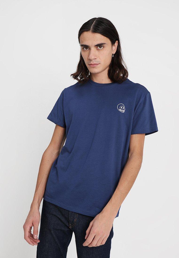 Cheap Monday - STANDARD TEE TINY SKULL - T-shirt basic - deepblue
