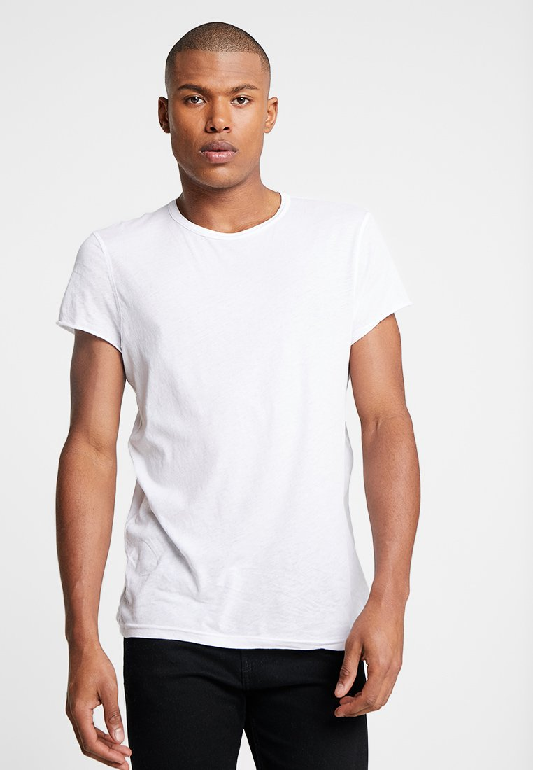 Cheap Monday - SLIM TEE - Camiseta básica - white