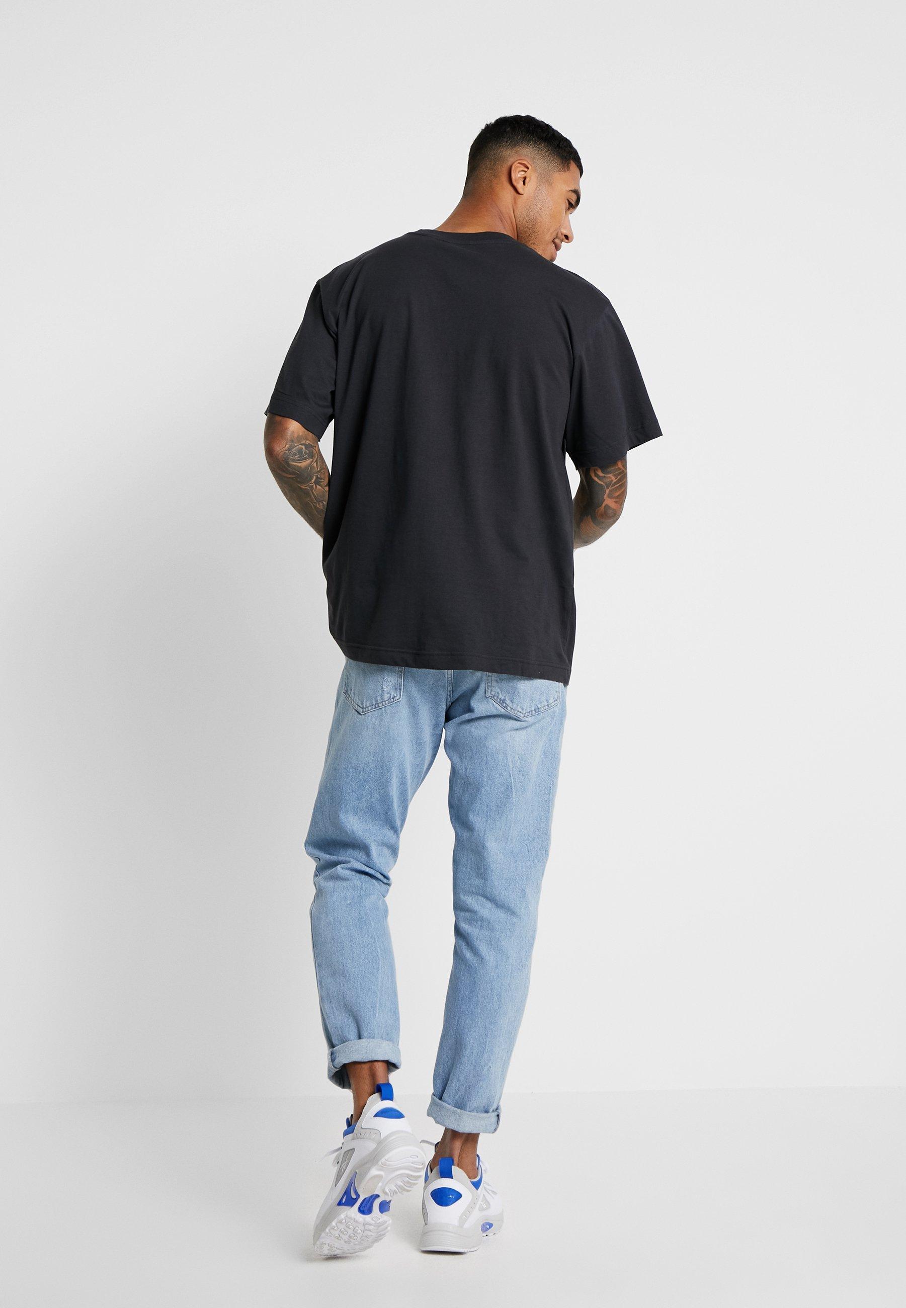Cheap Monday UNI TEE SINGLE LOVE - T-shirt imprimé offblack
