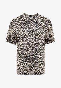 Cheap Monday - UNI TEE - T-shirts med print - cheetah sand - 3