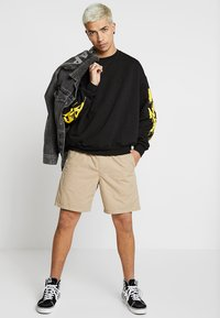 Cheap Monday - GOAL DRIP SADLY - Sweatshirt - black - 1