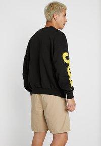 Cheap Monday - GOAL DRIP SADLY - Sweatshirt - black - 2