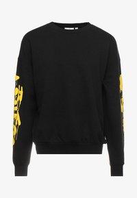 Cheap Monday - GOAL DRIP SADLY - Sweatshirt - black - 3