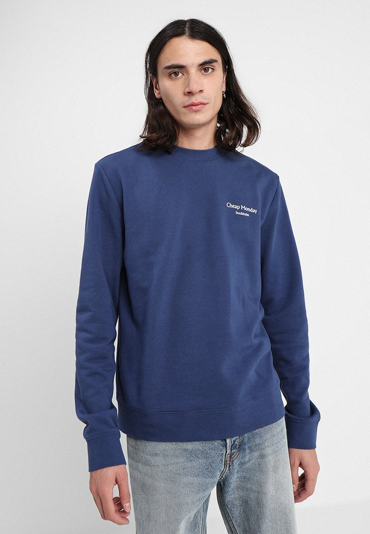 Cheap Monday - WORTH - Sweatshirt - deepblue