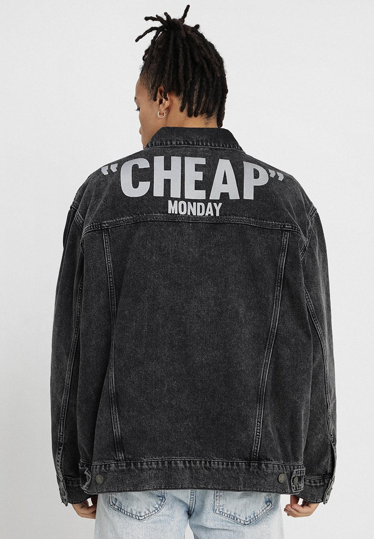 Cheap Monday - ZONE JACKET NO SLASH  - Jeansjacke - black