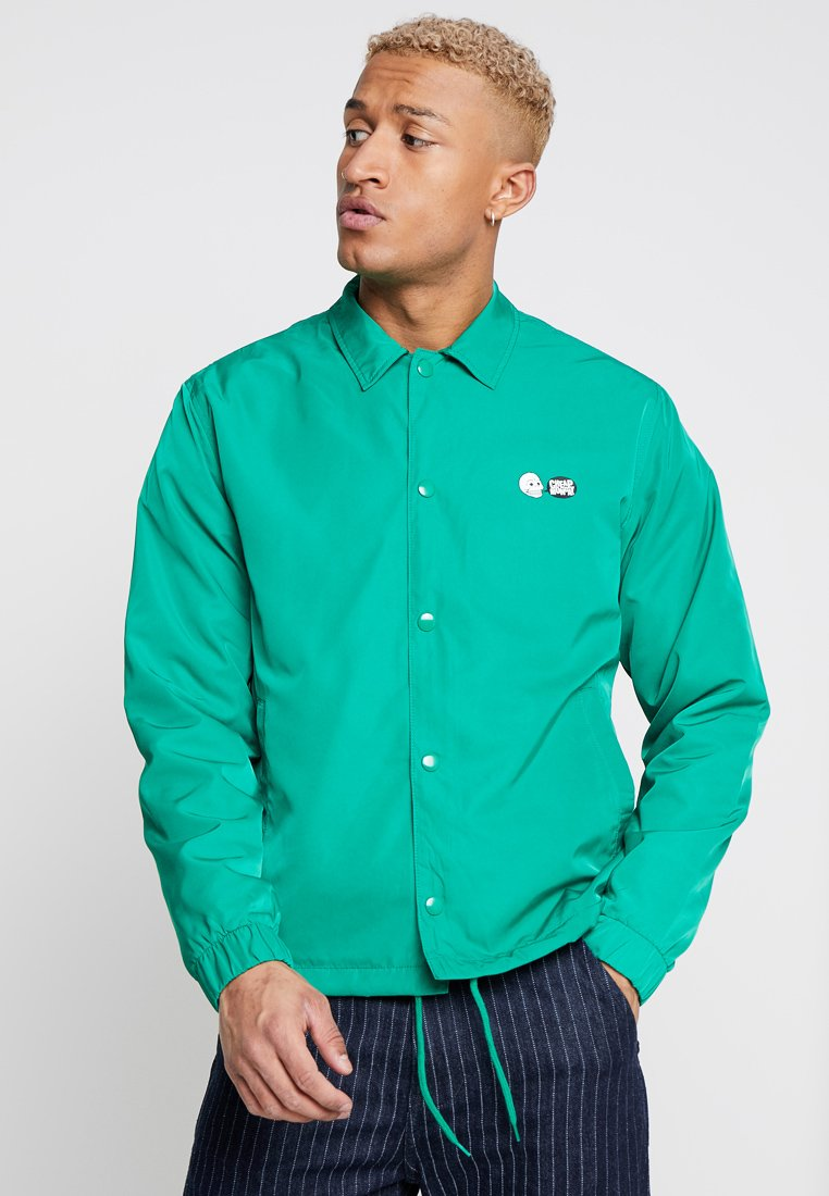 Cheap Monday - CORE SHELL JACKET - Lehká bunda - grassgreen