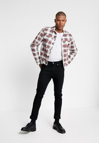 Cheap Monday - LEGIT JACKET - Giacca di jeans - red - 1