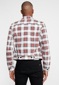 Cheap Monday - LEGIT JACKET - Giacca di jeans - red - 2