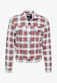 Cheap Monday - LEGIT JACKET - Giacca di jeans - red - 4