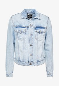 Cheap Monday - LEGIT JACKET TRASHED - Farkkutakki - air blue - 3