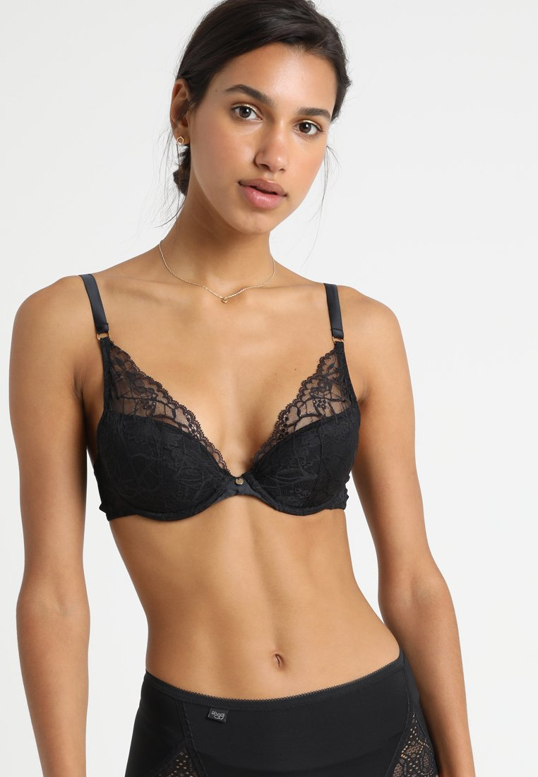 Chantelle - SEGUR - Push-up BH - schwarz