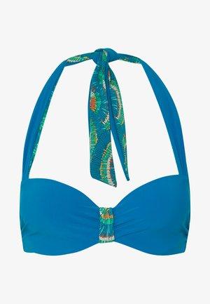 PLUME MEMORY SCHALE - Bikinitoppe - blue /peacock