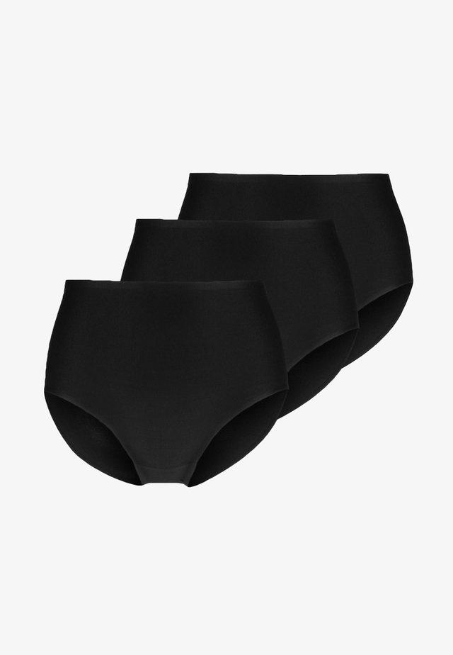 SOFTSTRETCH 3 PACK - Briefs - schwarz