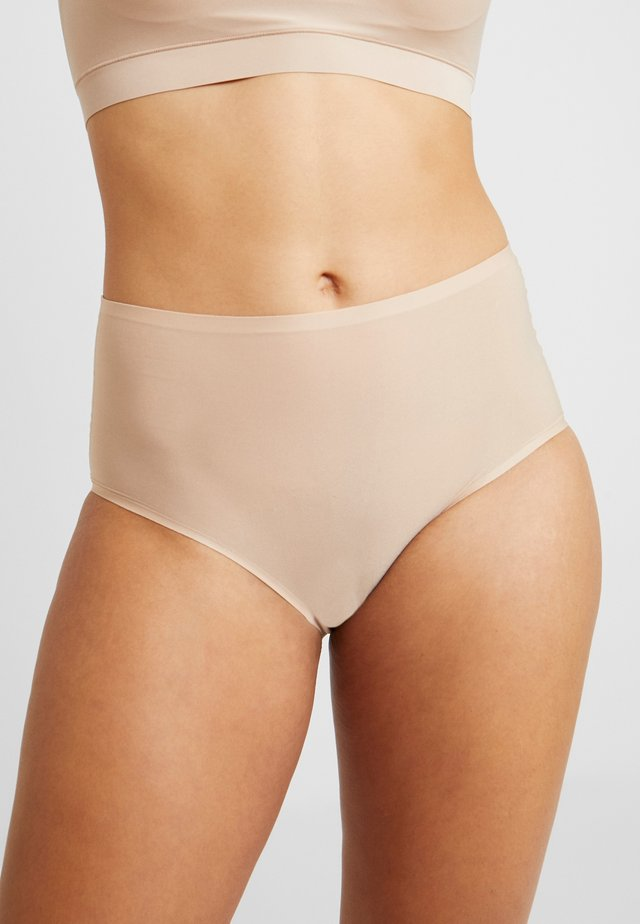 SOFTSTRETCH HIGH WAIST - Pants - nude