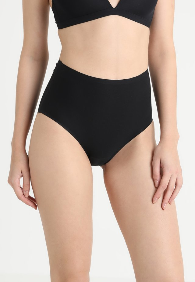 SOFTSTRETCH HIGH WAIST - Pants - black