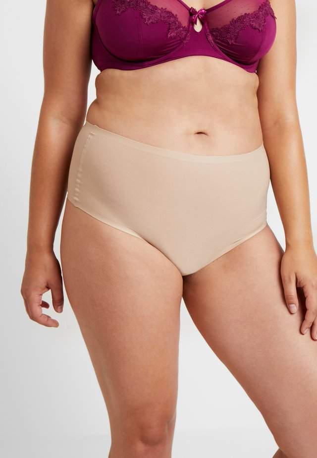 SOFTSTRETCH HIGH WAIST - String - nude