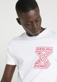Raeburn - T-shirt print - white - 3