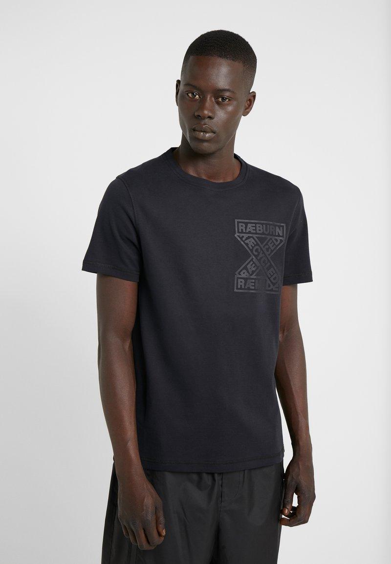 Raeburn - T-shirt print - black