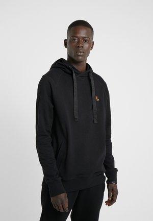LOGO HOODIE - Jersey con capucha - black