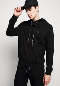 Raeburn - HOODED - Luvtröja - black - 3
