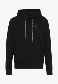Raeburn - HOODED - Luvtröja - black - 6