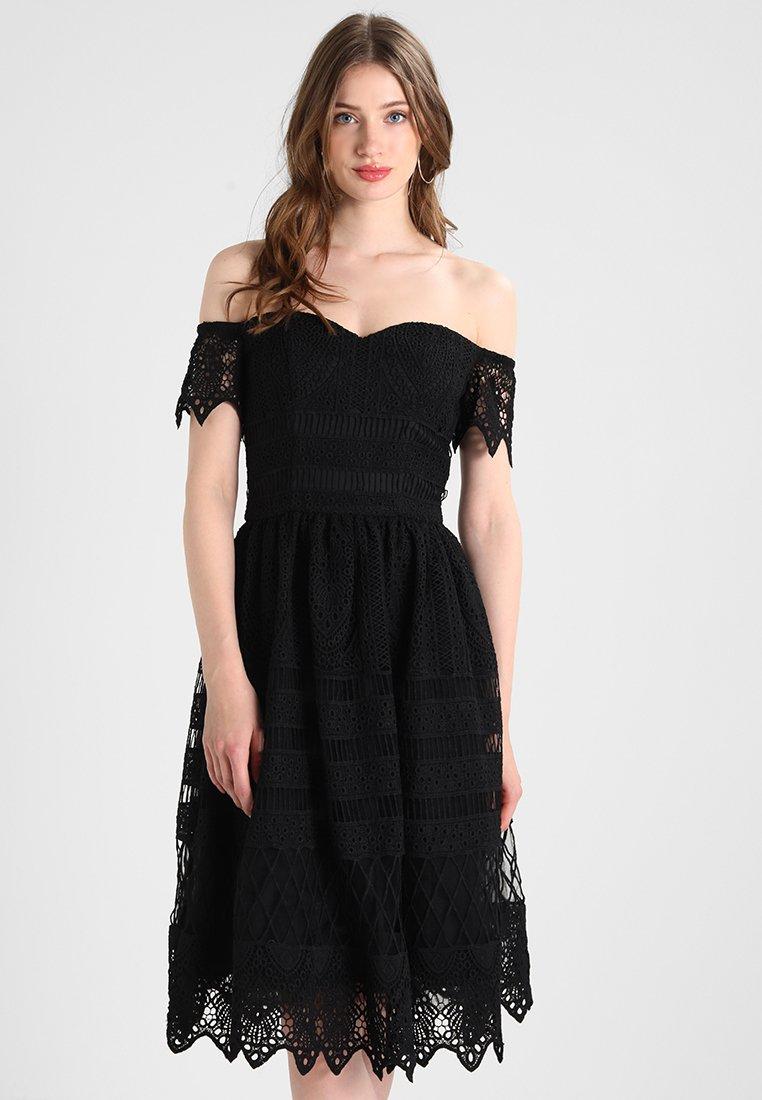 Chi Chi London Tall - ROUGIA - Day dress - black