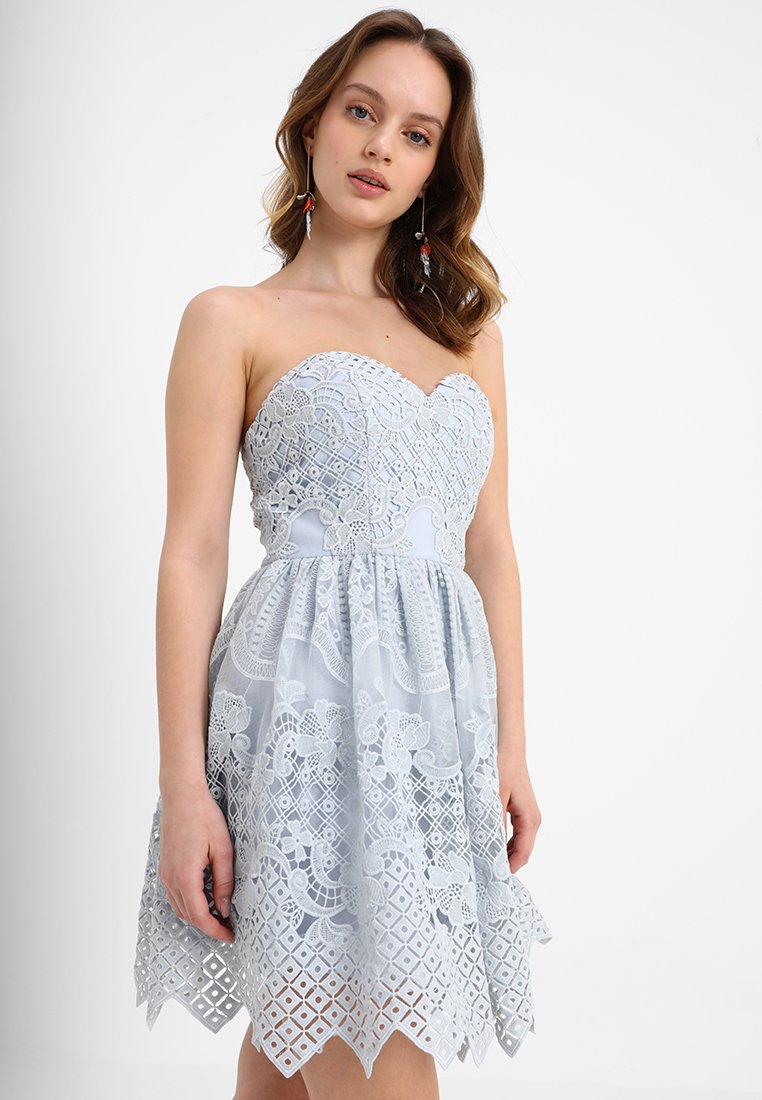 Chi Chi London Petite - ASTER - Cocktail dress / Party dress - blue