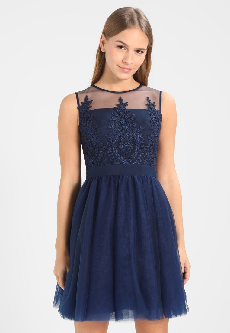 Chi Chi London Petite - IVY - Cocktail dress / Party dress - navy