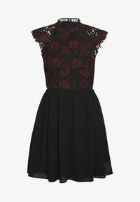 Chi Chi London Petite - SAWYER DRESS - Vestito elegante - black - 3