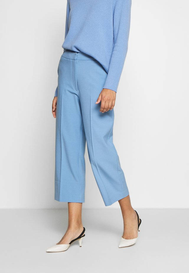 CROPPED TROUSER - Pantaloni - sky blue