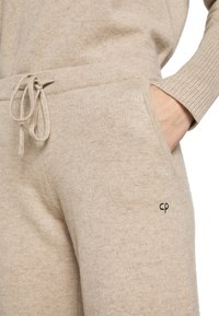 CHINTI & PARKER - ESSENTIALS WIDE LEG PANT - Broek - oatmeal - 3