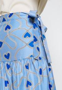 CHINTI & PARKER - ANNI HEART SKIRT - A-line skjørt - sky blue - 4