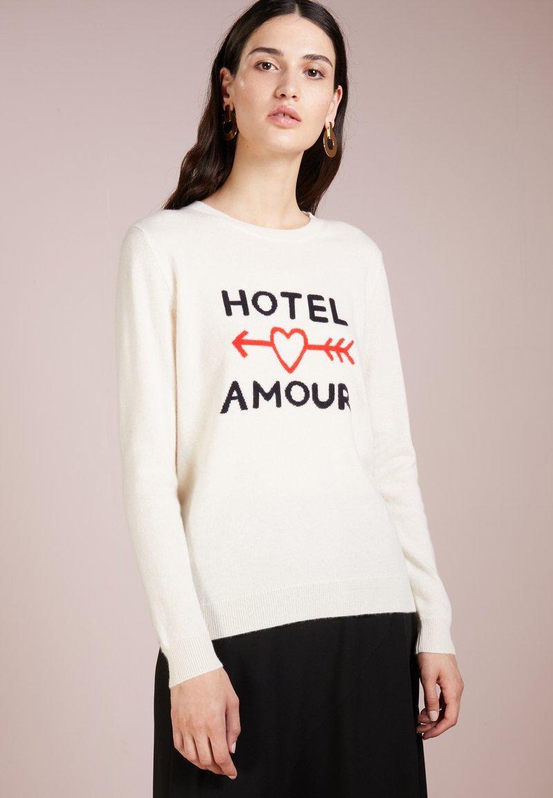 CHINTI & PARKER - HOTEL AMOUR - Jumper - cream