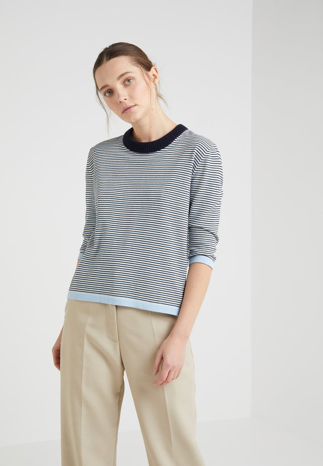 MID SUMMER SWEATER - Maglione - navy/blue/cream