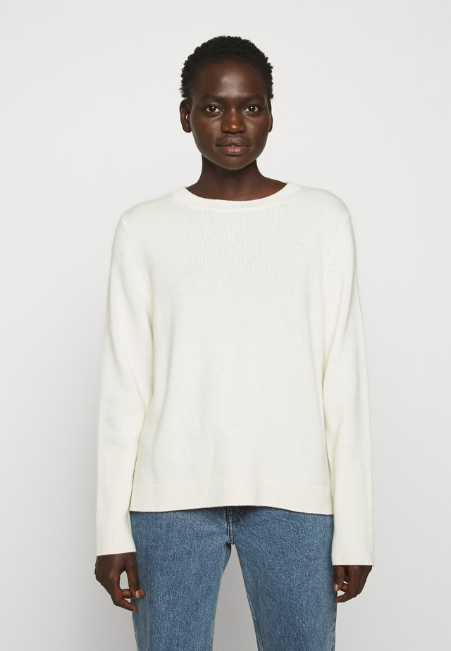 THE BOXY - Sweter - cream