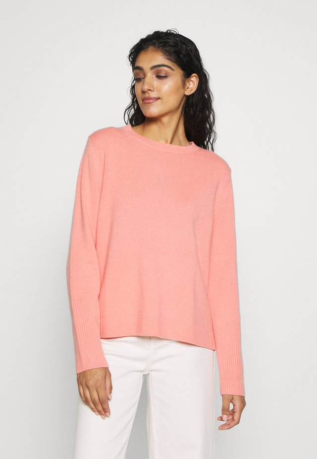 THE BOXY - Sweter - dusty rose