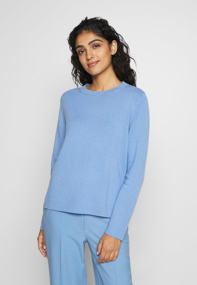 THE BOXY - Strikpullover /Striktrøjer - sky blue