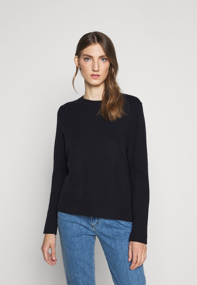 THE BOXY - Sweter - navy