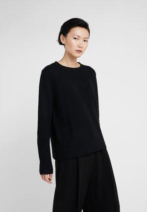 THE BOXY - Stickad tröja - black