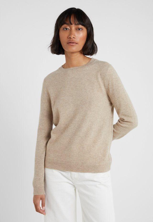 THE CREW - Strickpullover - oatmeal