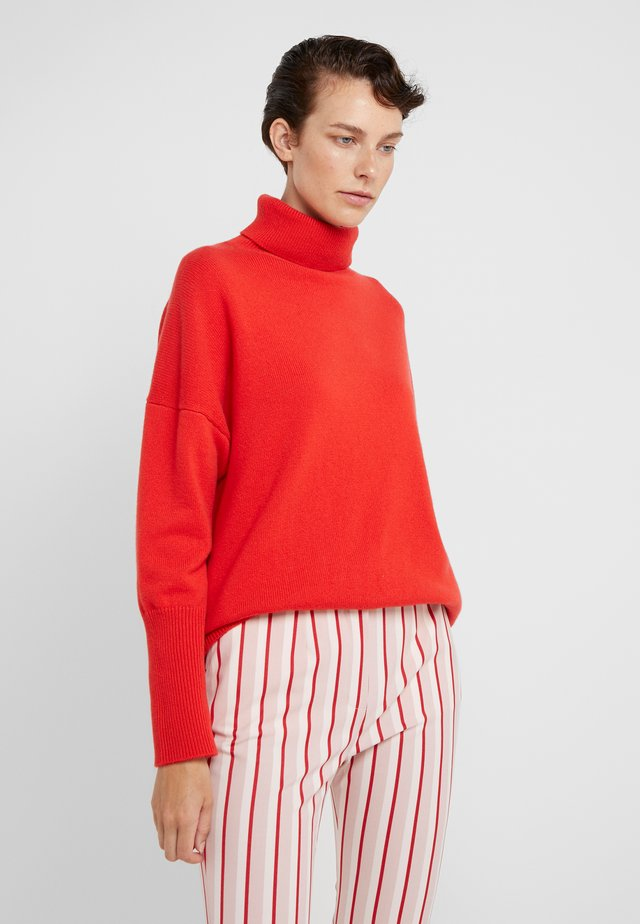 THE RELAXED - Stickad tröja - bright red